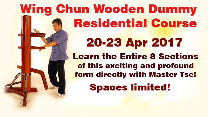 graphic link Wing Chun Wooden Dummy Residential Course