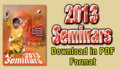 2013 Seminar Leaflet - download icon